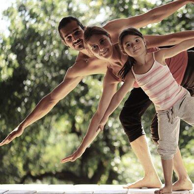 Οικογένεια, Yoga και ύπνος
